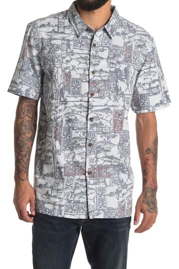 Рубашка классического кроя с принтом Fish Fry Island Jack O'Neill