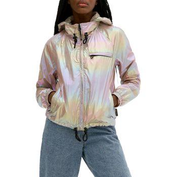 Куртка-ветровка с голографическим рисунком Ezra NOIZE