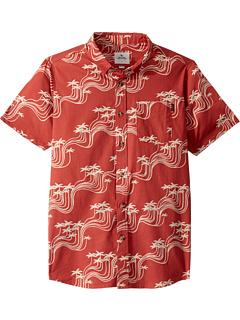 Рубашка с коротким рукавом Ballena (для больших детей) Rip Curl Kids