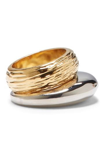Двухцветные кольца для укладки - размер 7 Vince Camuto