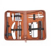 Royce Leather Executive Travel & Grooming Kit Royce Leather