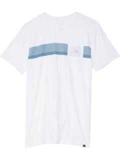 Базовая футболка в полоску (для больших детей) Quiksilver Kids