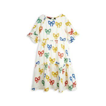 Маленькая девочка & amp; Многослойное платье с бантом для девочек Mini rodini