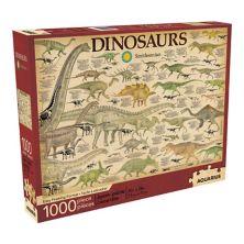 Водолей Смитсоновский & # 34; Динозавры & # 34; Головоломка из 1000 деталей Aquarius