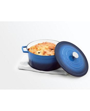 Эмалированный чугун, круглый, 8 кварт. Голландская духовка, созданная для Macy's Martha Stewart Collection