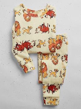 babyGap | Пижамный комплект из 100% органического хлопка Disney Lion King Gap Factory