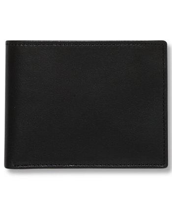 Портфель мужской кожаный кошелек Super Slimfold Perry Ellis Portfolio