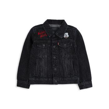 Джинсовая куртка с Микки Маусом для мальчиков Levi's®