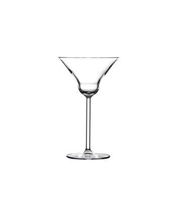 Vintage-Like Martini Glasses, Set of 2 Nude Glass