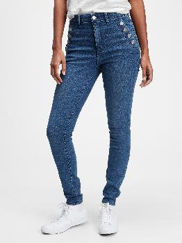 High Rise Universal Legging Jeans With Button Pockets With Washwell™ Gap Factory