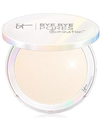 Bye Bye Pores Illuminating Pressed Setting Powder Пудра для сияния кожи IT Cosmetics