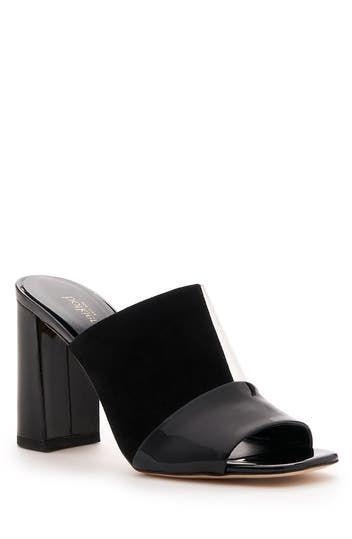 Rialto Block Heel Slide Sandal Botkier
