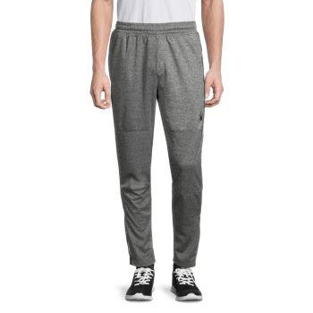 Спортивные брюки с эффектом потертости на молнии с манжетами Spyder