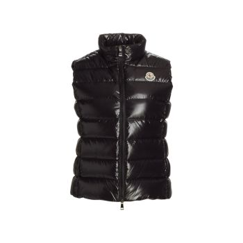 Ghany Quilted Shiny Vest Moncler
