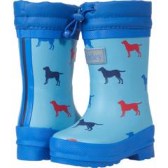 Friendly Labs Sherpa Lined Rain Boots (Toddler/Little Kid) Hatley Kids