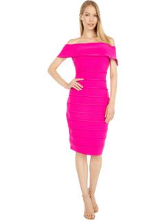 Off Shoulder Shutter Dress MARINA