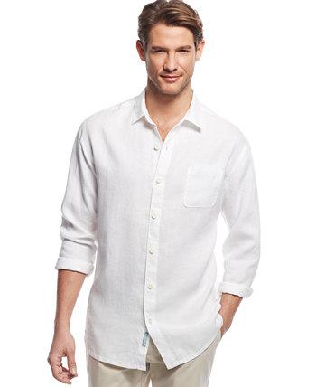 Мужская льняная рубашка Sea Glass Breezer Tommy Bahama