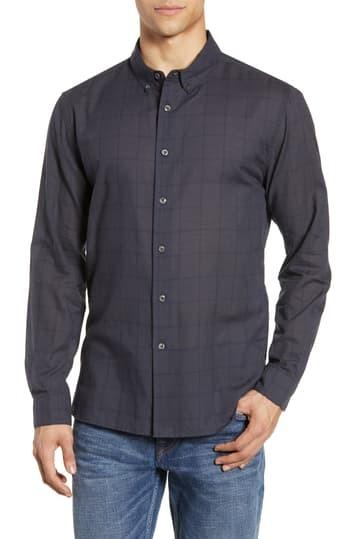 Спортивная рубашка в клетку Davis Slim Fit BALDWIN