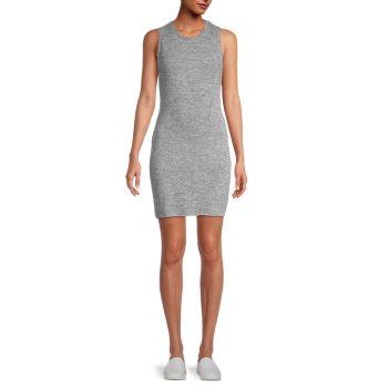 Платье без рукавов с вырезом Theo & Spence