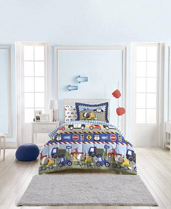 Комплект сдвоенных одеял для поездов и грузовиков Dream Factory