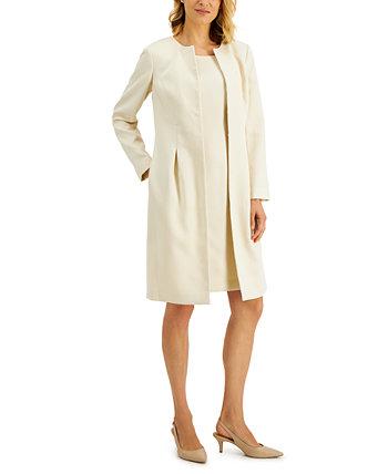 Topper-Jacket Jacquard Dress Suit Le Suit