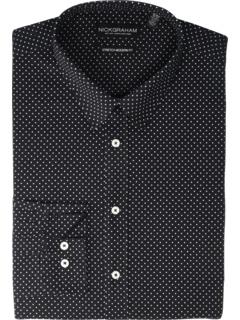 Эластичная классическая рубашка в горошек Nick Graham