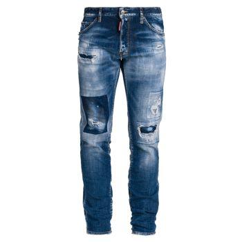 Отбеленные рваные / ремонтные джинсы Cool Guy DSQUARED2