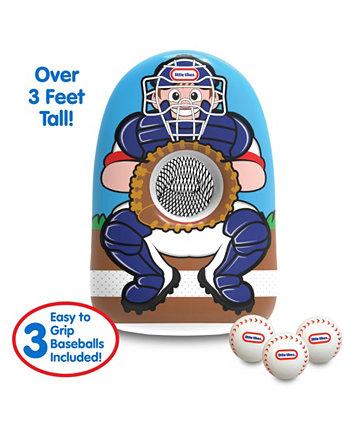 Надувной бейсбольный тренажер Jumbo - более 3 футов в высоту Little Tikes