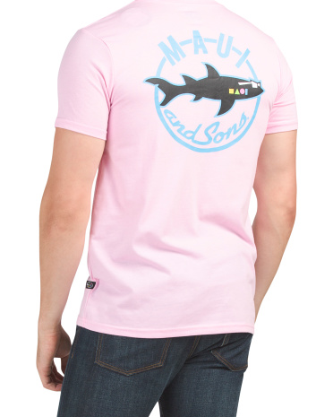 Футболка с рисунком Shark Nation Maui and Sons