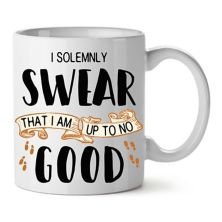 """Harry Potter Marauder's Map """"I Solemnly Swear That I Am Up To No Good"""" Mug Licensed Character"""
