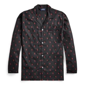 Signature Pony Pajama Shirt  ig Ralph Lauren