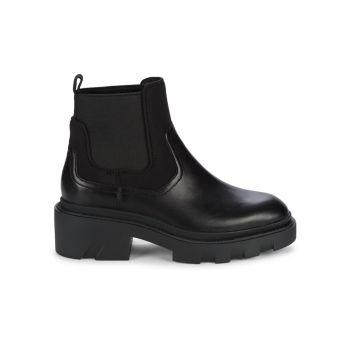 Кожаные армейские ботинки Mastro без застежки ASH