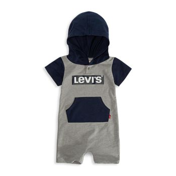 Baby Boy's Hooded Logo Coveralls Levi's®