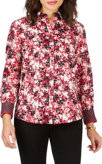 Винтажная рубашка с цветочным принтом Ava FOXCROFT