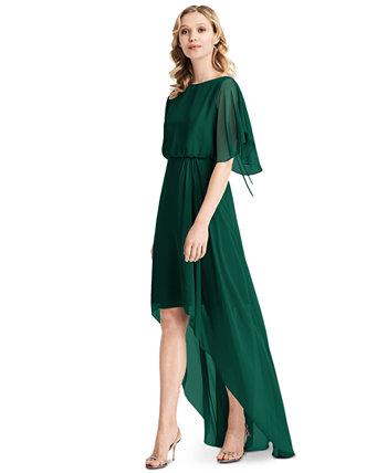 Платье трапециевидной формы с длинными рукавами и длинными рукавами Jenny Packham
