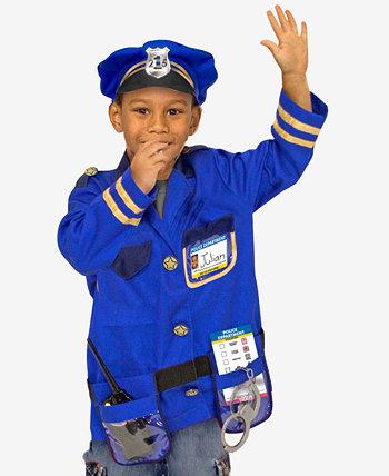 Набор костюмов для ролевых игр для полицейских Мелиссы и Дуга Melissa and Doug