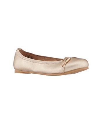 Little Girls Lea Ember Ballerina Flats Kenneth Cole New York