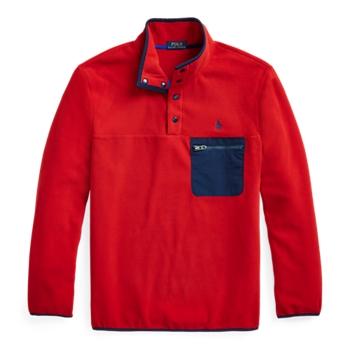 Пуловер из флиса с воротником под горло ig Ralph Lauren