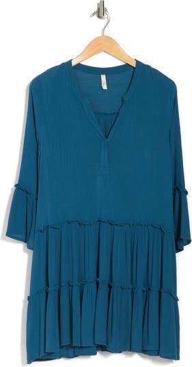A-Line Tiered Mini Dress ELAN