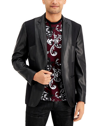 Мужской пиджак из искусственной кожи INC, созданный для Macy's INC International Concepts