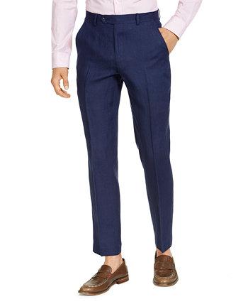 Men's Modern Fit Linen Suit Separate Pants Tommy Hilfiger