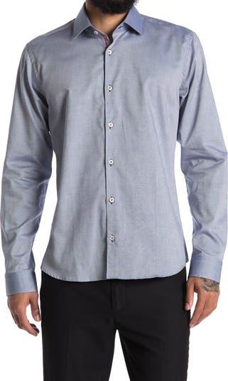 Оксфордская классическая рубашка с триммером Jared Lang