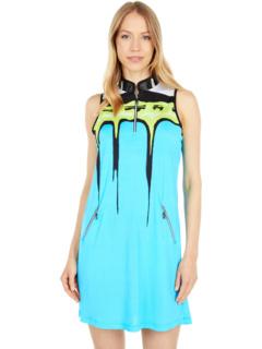 Peak Print Dress Jamie Sadock
