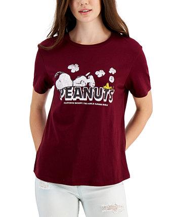 Футболка с логотипом Juniors 'Snoopy Peanuts