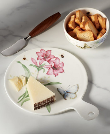 Доска для красного сыра Butterfly Meadow Kitchen, созданная для Macy's Lenox