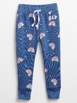 Брюки без застежки с логотипом Toddler Gap Gap Factory