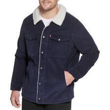 Классическая вельветовая куртка на подкладке из шерпы Big & Tall Levi's® Levi's®