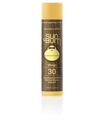 Солнцезащитный бальзам для губ SPF 30, 0,15 унции. Sun Bum