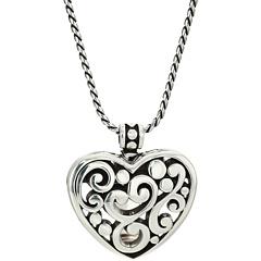 Ожерелье-клипса в виде сердечка Contempo Brighton