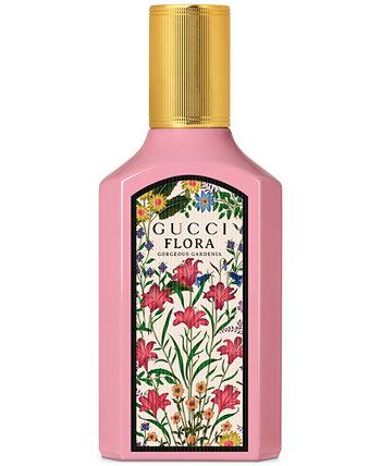 Парфюмированная вода-спрей Flora Gorgeous Gardenia, 1,6 унции. GUCCI
